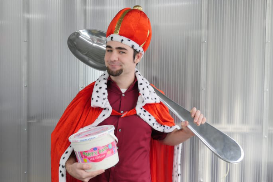Ice Cream King is Moving to Maine
