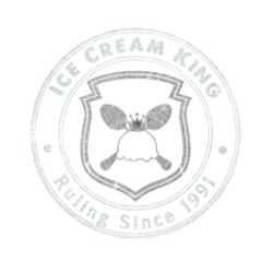 inverted Ice Cream King Logo