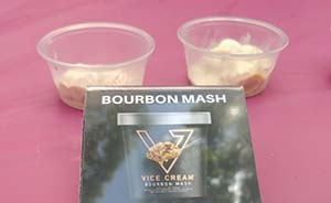 vice cream bourbon mash