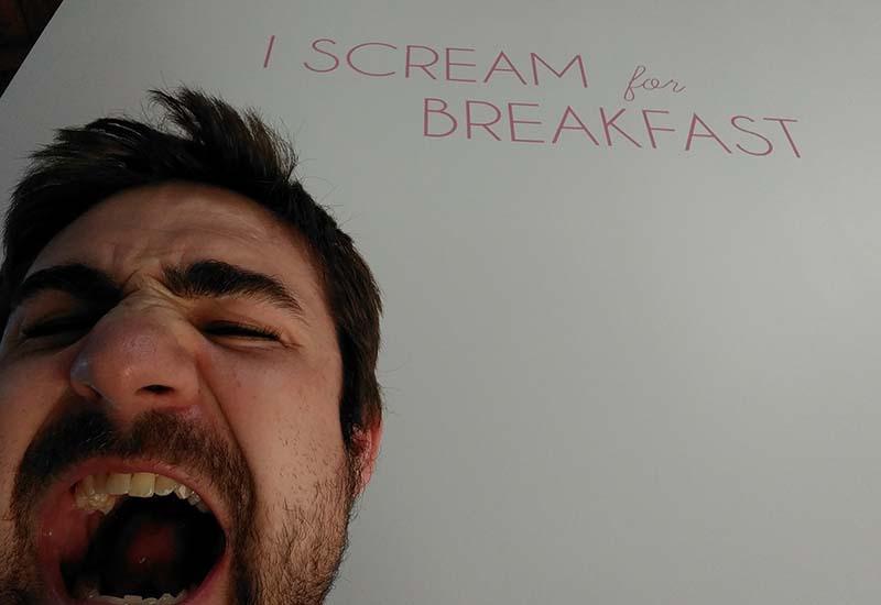 i scream for breakfast