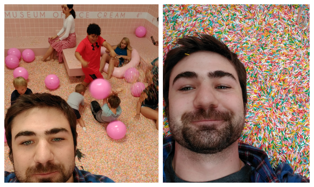 Ice cream museum - sprinkle pit