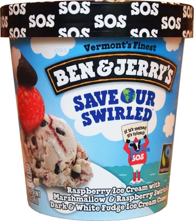 Ben & Jerry's - Save Our Swirled Ice Cream
