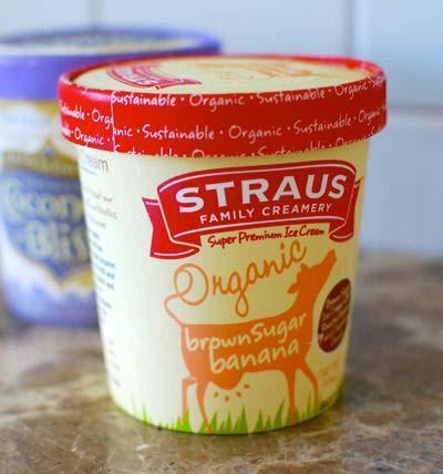 Straus Family Creamery - Brown Sugar Banana Ice Cream