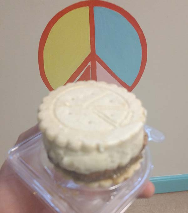 Peace Pie - Pecan Pie Ice Cream Sandwich