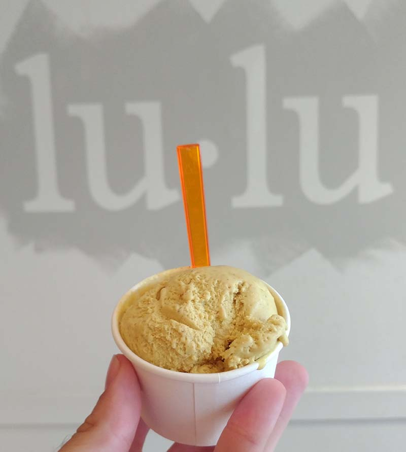 Lulu ice cream - slumdog millioaire - peanut butter curry ice cream