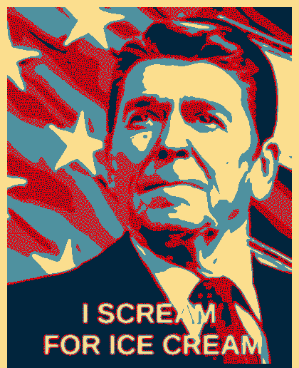 Ronald Reagan - I Scream for Ice Cream
