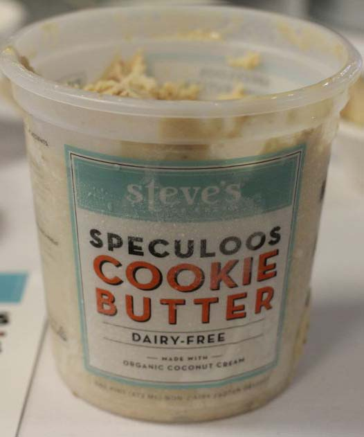 Steve's - Speculoos Cookie Butter Dairy Free Ice Cream
