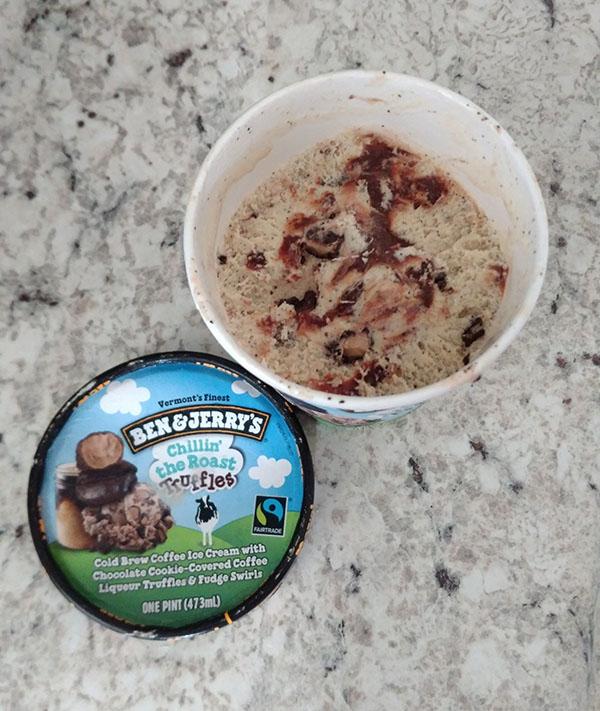Ben & Jerrys - Chillin The Roast Tuffles Pint of Ice Cream